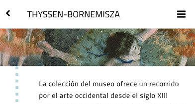 Un paseo por 24 obras de arte de Madrid a golpe de aplicación