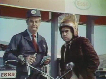 Cuando las gasolineras eran amables con los clientes