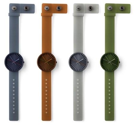 Plicate, el reloj de pulsera de Benjamin Hubert para NAVA Design