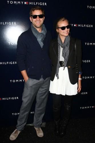 Diane Kruger en el front row de Tommy Hilfiger en la Semana de la Moda de Nueva York