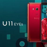 HTC U11 Eyes: marcos estrujables, resistencia al agua y cámara doble frontal para selfies