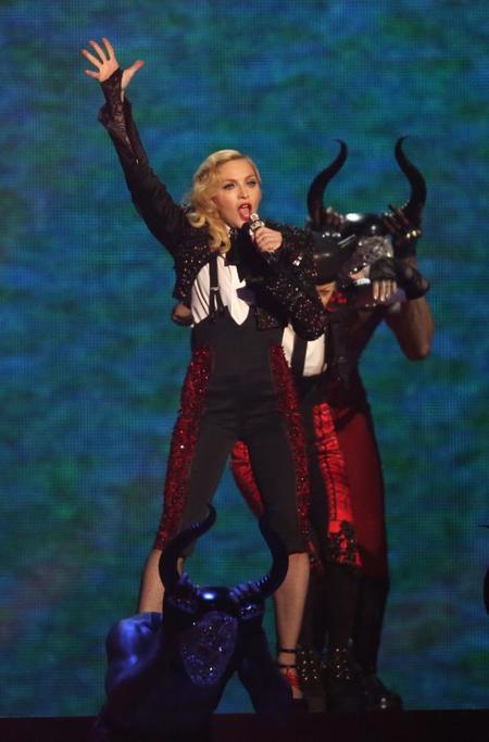 Toma piñazo el de Madonna en los Brit Awards 2015