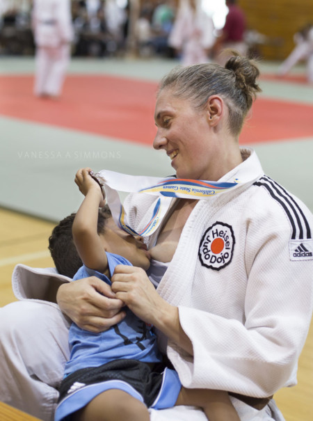 judoca-lactancia
