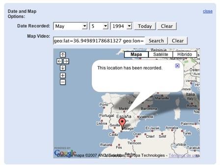 YouTube te permite geolocalizar los vídeos