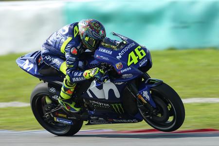 """Valentino Rossi tras dominar Yamaha el segundo día de test: """"Estoy muy contento de volver a estar delante"""""""
