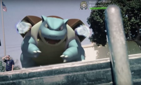 Pokemon Go Blastoise Realworld Trailer Screenshot Ios Android 1280x775