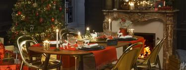 Habitat propone el Art Déco como tendencia para mesas de Navidad que unen tradición y vanguardia