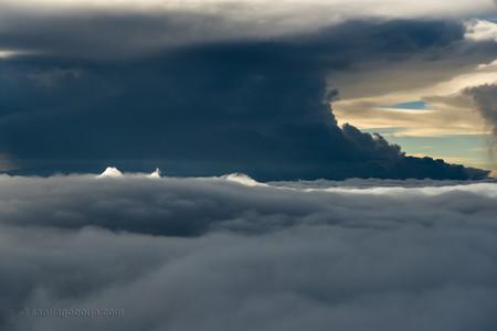 Santiago Borja Fotos Tormentas Desde Avion 5