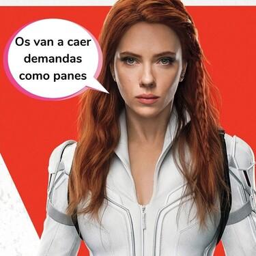 Scarlett Johansson saca la espada y demanda a Disney por incumplimiento de contrato tras el estreno de 'Viuda Negra'