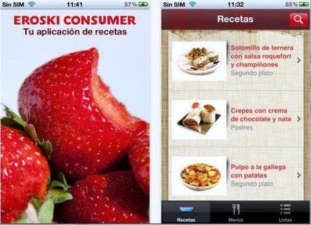 Recetas que incluyen información diversa están disponibles en una aplicación para smartphones y tabletas