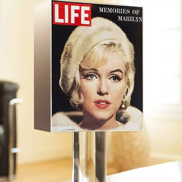 Viaje al pasado y revistas de los sesenta: un cóctel perfecto para crear lámparas vintage con las portadas más icónicas del siglo XX