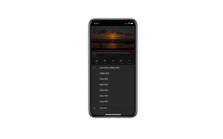 YouTube ya permite reproducir contenido en HDR en los iPhone X
