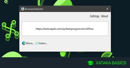 Cómo seleccionar un navegador diferente dependiendo del enlace que abras en Windows 10