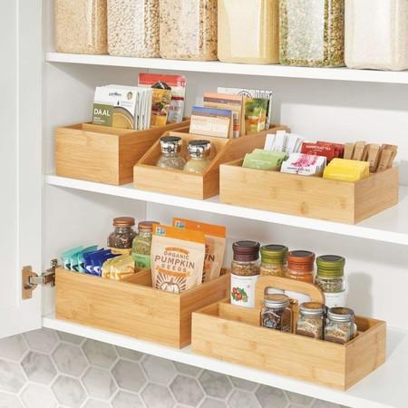4 unidades Juego de 20 organizadores de cocina para almacenamiento de especias accesorios de cocina utensilios de cocina
