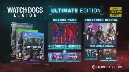 Watch Dogs Legion Edicion Ultimate