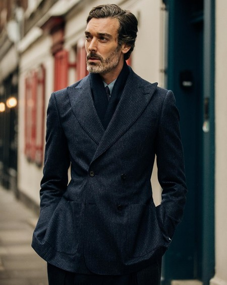 Richard Biedul Triunfa En La Semana De La Moda De Londres Como El Hombre Con Mas Estilo