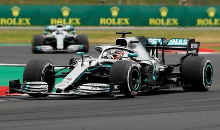 Hamilton Bottas Silverstone F1 2019