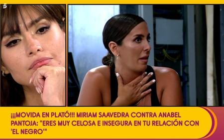 """Miriam Saavedra, cada día más cerca de ganarse el cariño de Anabel Pantoja: """"Le cojo las extensiones y se las devuelvo a la tienda"""""""