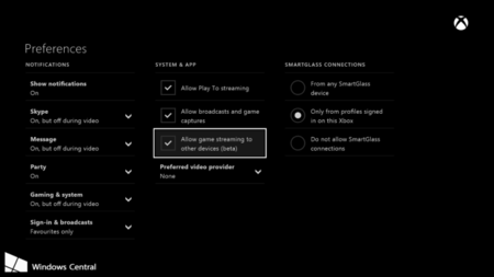 Xbox One Streaming 2