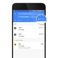 Google Maps añadirá Uber y otros servicios de transportes especiales a su plataforma