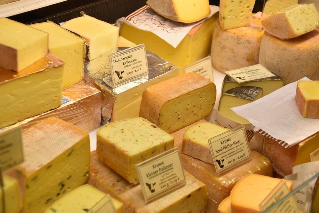 Curado, gruyere, roquefort... Los quesos grasos ya no son