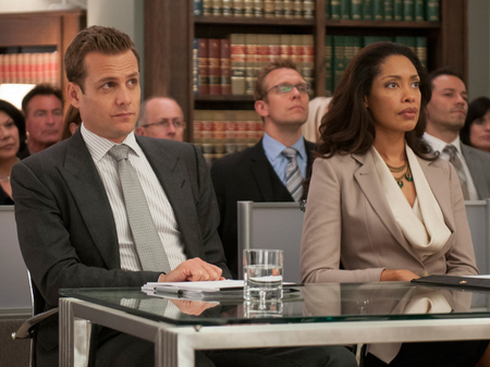 Harvey Specter Grey Suit
