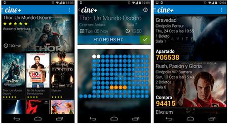 Cine+ app