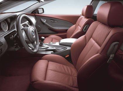 Interior del BMW 645 Ci