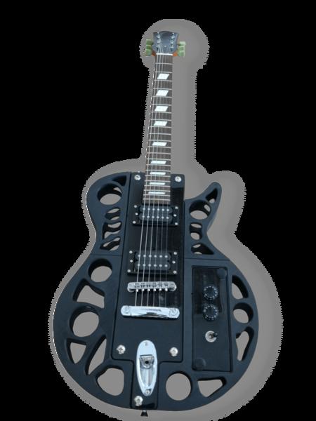 Otro modelo de guitarra impreso en 3D