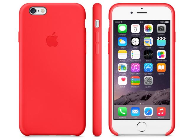 Nuevas fundas de silicona y cuero para los iPhone 6: precios y colores