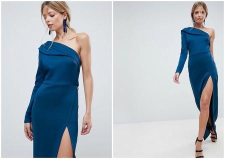 Vestido Rebajas Asos Azul