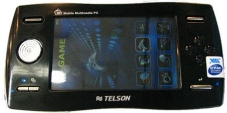 UMPC para jugar con pantalla 3D