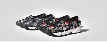 Estas originales sneakers son la perfecta alternativa a los zapatos de tacón