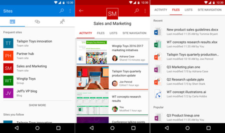 Sharepoint Android