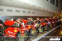 Visita Factoría y Museo Ducati cuarta parte. La fábrica de sueños