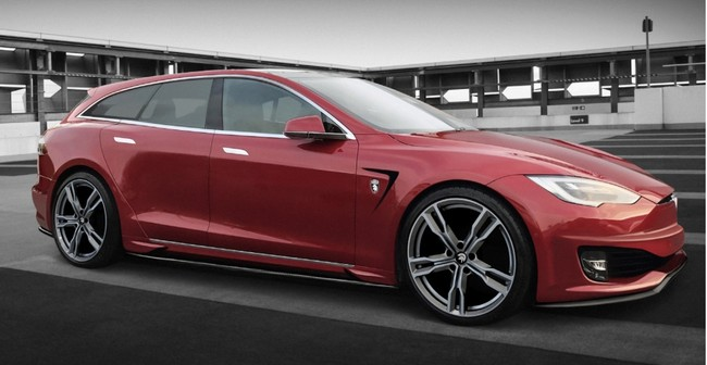 Ares Design también tendrá su propio Tesla Model S ranchera, ¡y costará más de 200.000 euros!