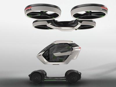 'Pop.Up' es el increíble vehículo modular de Airbus que puede volar o circular por las calles de forma autónoma
