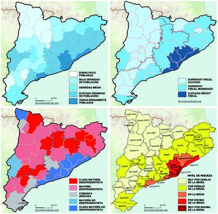 Mapas Estadisticos De Cataluna