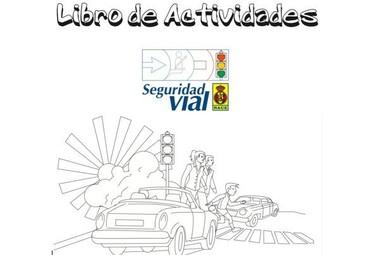 Libro de actividades sobre seguridad vial