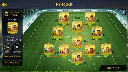 Fifa 15 Ultimate Team Mobile