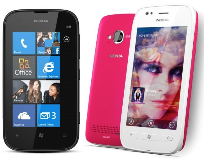 Nokia Lumia 510 and 710