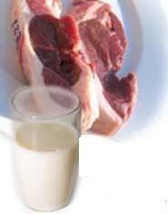 Los niveles de minerales de la carne y la leche han disminuido de forma notable