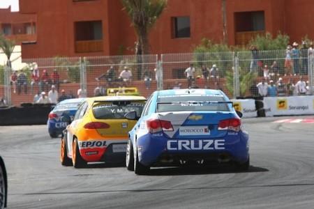 Los Chevrolet Cruze rompen la hegemonía de SEAT en Marrakech