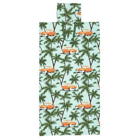 Solblekt Beach Towel With Bag Palm Car Pattern Blue 0825003 Pe776228 S5