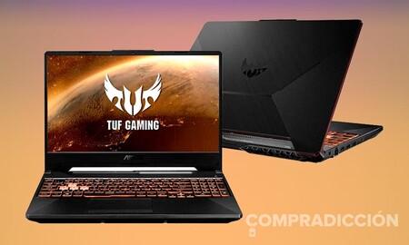 A este precio el portátil gaming ASUS TUF Gaming F15 FX506LH-HN129 es un verdadero chollo: PcComponentes te lo deja 301 euros más barato por 799 euros