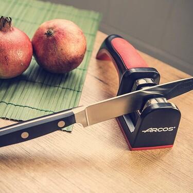 Afiladores de cuchillos prácticos y fáciles de usar para tener tus utensilios de cocina siempre a punto