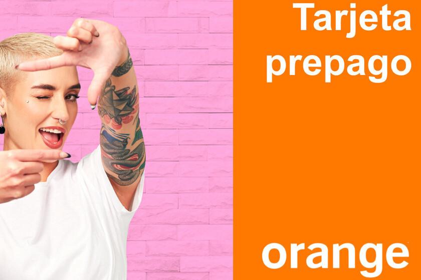 Orange estrena los gigas acumulables en sus tarifas prepago Go y Mundo