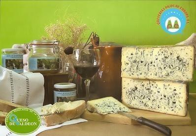 Queso de Valdeón, un queso de pasta azul de los grandes
