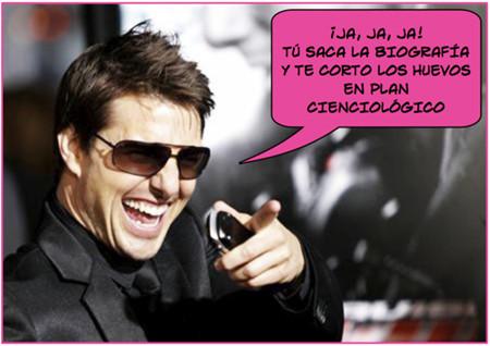 Tom Cruise estéril y homosexual, según biografía no autorizada