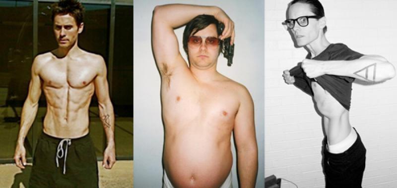 perdida de peso gordos actores